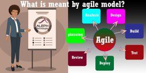 Agile Model-Aleph global scrum team