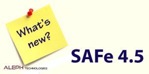 safe 4.5 -Aleph global scrum team